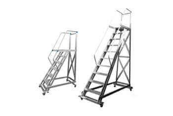 Escadas de Aluminio Modelos Especiais